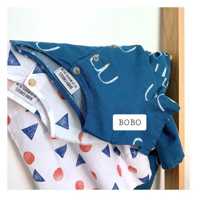 Gros craquage pour ces deux robes bobo! 😍 . Chez Spc,  on aime tellement vous proposer des pièces de la jolie marque @_bobochoses_ , aux imprimés graphiques et toujours stylisés  . . ~Robes Bobo C , 18/24 mois , 28 euros  . . ~ Le saviez-vous ? ~ La team SALOPETTE ET PETIT COL ne sélectionne que les plus belles pièces de seconde-main rien que pour vous 🙌🏻 www.salopettepetitcol.com ———————————— #salopetteetpetitcol #bechicbegreen #videdressingenfant #videdressingbebegarcon #videdressinggarcon #videdressingfille #videdressingbebefille #secondemain #preloved#bobochoses
